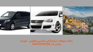 جدول سياحي وسيارة مع سائق في تبليسي